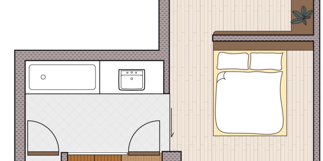 Panorama Suite mit Sauna