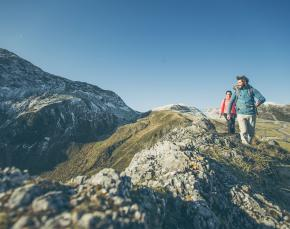 Wolkenschlösser - hochalpines Gelände und herrliche Ausblicke