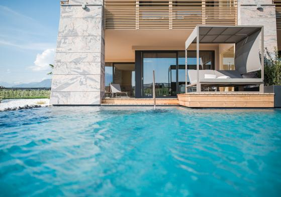 Neu ab Ostern 2018: Wellness Suite mit privatem Pool-Zugang