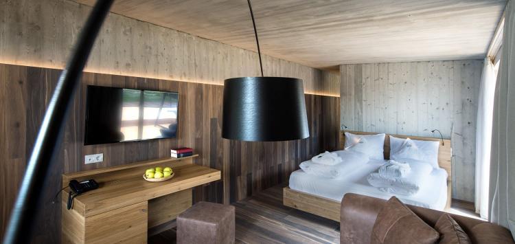 Panorama Suite Deluxe con sauna