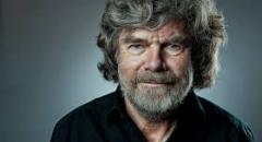 Hiking with Reinhold Messner