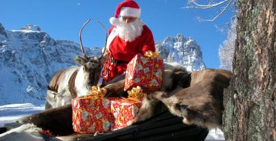 Natale in montagna