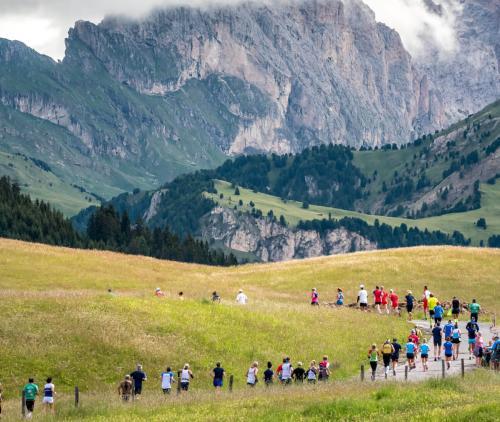 Fine settimana della Mezza Maratona Alpe di Siusi