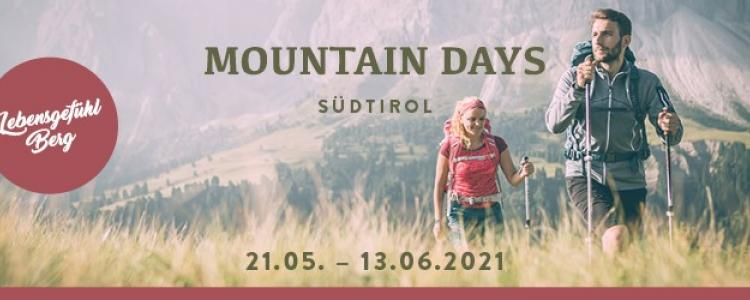 Mountain Days Südtirol 2020